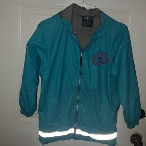 Other - Monogrammed Rain Jacket Youth ERR